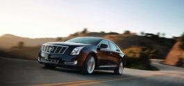 Cadillac XTS running