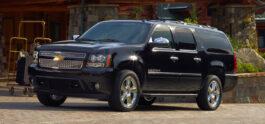 Chevrolet Suburban side