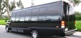 limo bus back